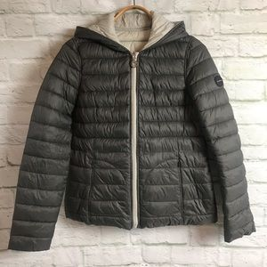 Halifax Hooded Puffer Coat Reversible/Packable